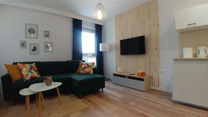 Apartament 32-1 Bałtycka Kołobrzeg przy porcie rybackim wynajem / doby